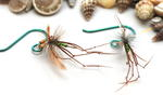 Green Crane Fly Earrings