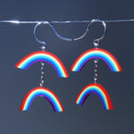 Double Rainbow Earrings