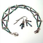 AzTech Bracelet and Earring Set