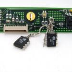 Black ATMEL Cyber Bug Earrings