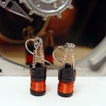 Red Drum Choke Earrings