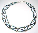 AzTech Blue Resistor Necklace