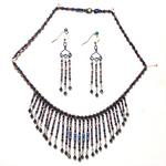Egyptian Resistor Necklace and Earrings