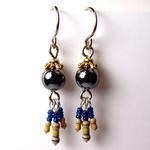 Hematite Earrings w/ Resistors