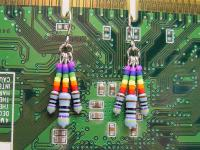 Geek Pride Resistor Earrings